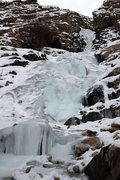 Rock Climbing Photo: Willard Canyon Falls 12/18/13