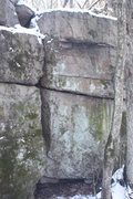 Rock Climbing Photo: Boyish Gulley bouldering potential?