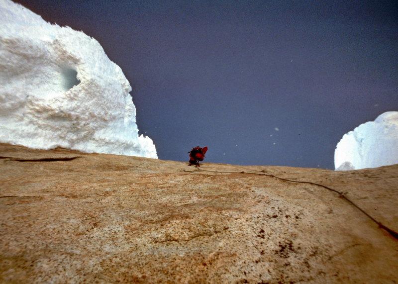Cerro Torre Headwall