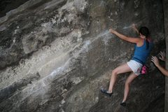 Rock Climbing Photo: one of the bouldering spots at bull creek. fun tra...