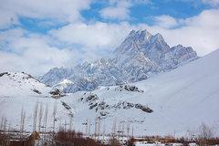 Rock Climbing Photo: Unknown peak, Pamir Highway