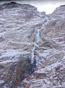 Rock Climbing Photo: Upper fall, Pamir Highway. 1 hour from Khorog