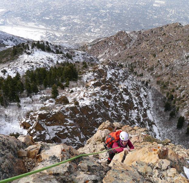 Rock Climbing Photo: Geurt's Ridge 12/18