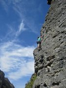Rock Climbing Photo: American fork canyon