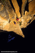 Rock Climbing Photo: Shawn Reeder Photo of Pitch 10 of Gates of Deliriu...