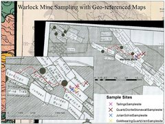 Rock Climbing Photo: Geo-referenced maps and Sampling Plan