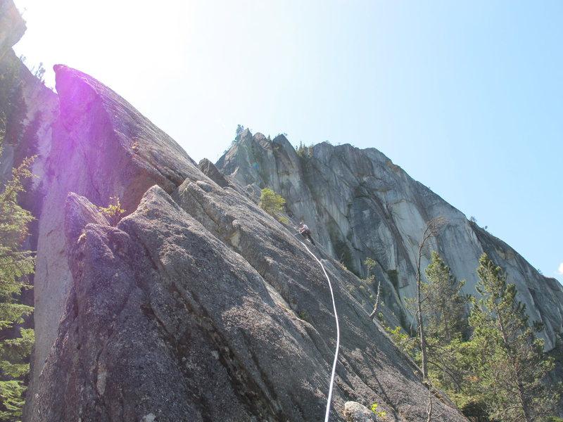 Rock Climbing Photo: Angel's Crest