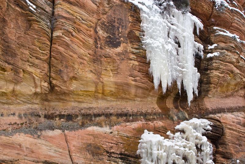 Zion ice