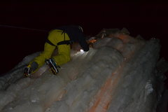 Rock Climbing Photo: Nice ice