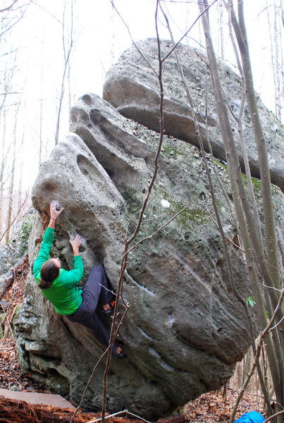 Rock Climbing Photo: Mother Mary