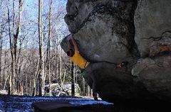 """Rock Climbing Photo: """"King Coal"""""""