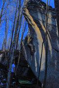 "Rock Climbing Photo: Parlier on ""Mono-y-Mono"""