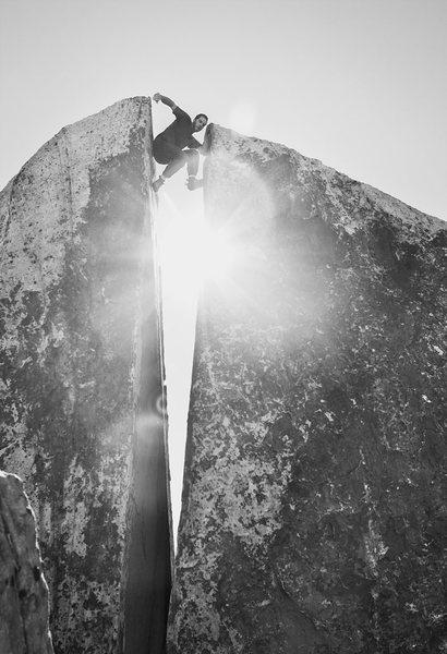 Rock Climbing Photo: Plumbers Crack