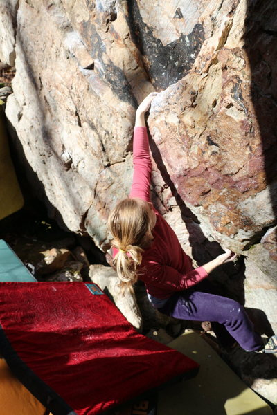 Rock Climbing Photo: SDS