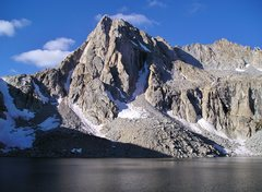 Rock Climbing Photo: Picture Peak from Hungry Packer Lake