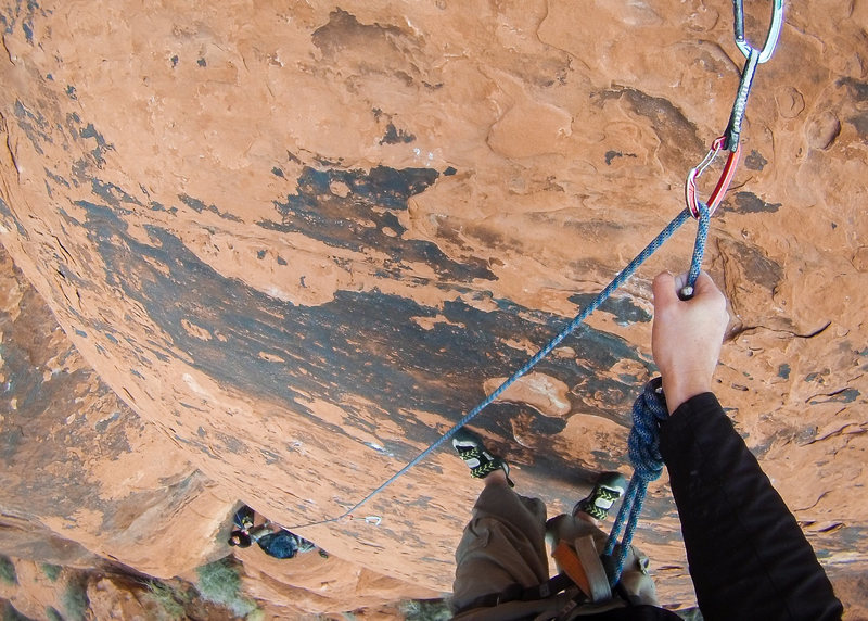 Rock Climbing Photo: Almost felt harder than Galloping Gal