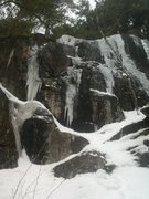 Rock Climbing Photo: There are several lines to the left of GWH that ar...