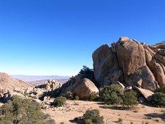 Rock Climbing Photo: Fraggle Rock, Joshua Tree NP