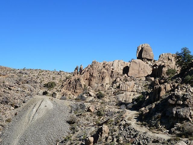 The Lion from across the wash, Joshua Tree NP