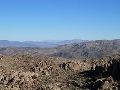 Rock Climbing Photo: Great views are common in the Desert Queen Mine ar...