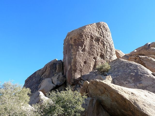 Fraggle Rock (SW Face), Joshua Tree NP