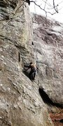 Rock Climbing Photo: Starting Golden Staircase