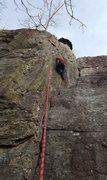 Rock Climbing Photo: The face to the right offers some 5.9 variations a...