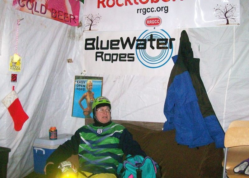warming tent and beer supply