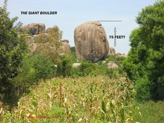 Rock Climbing Photo: Seen from the highway back to Kisumu  (a few miles...