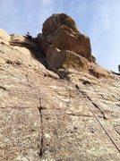 Rock Climbing Photo: Corner Climb.