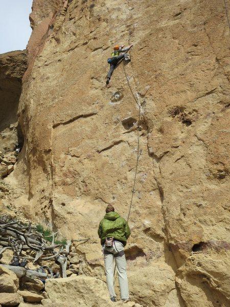 Rock Climbing Photo: Caffeine Free