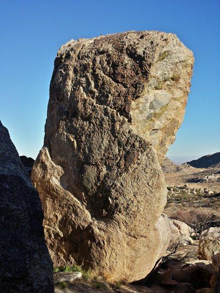 Rock Climbing Photo: Icarus face.