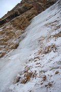 Rock Climbing Photo: The bottom fall.