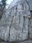 Rock Climbing Photo: Base of Jim's Wall. The most popular formation at ...