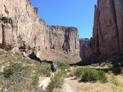 Rock Climbing Photo: Buitrera Canyon