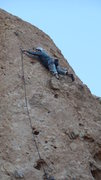 "Rock Climbing Photo: Cruising on ""Black Gold."""