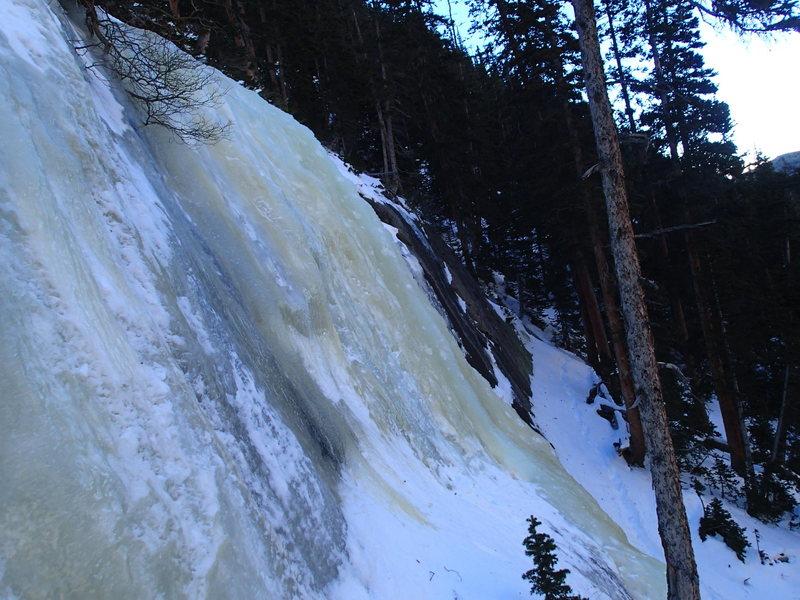 Rock Climbing Photo: Jewell Lake ice 12/16/13?