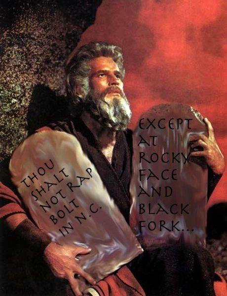 thus sayeth the long lost 11th commandment