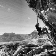 Rock Climbing Photo: Fear...