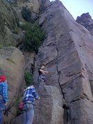 Rock Climbing Photo: Base of Tenochititlan