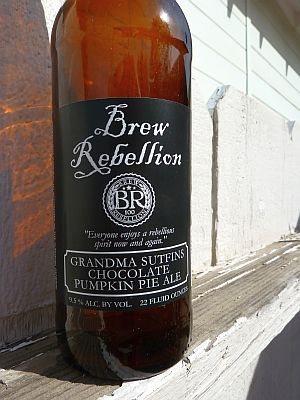 Brew Rebellion Choco-Pumpkin Pie Ale