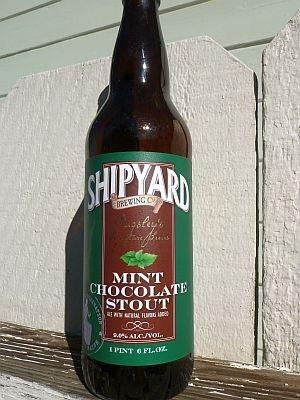 Shipyard Brewing Mint Choco Stout