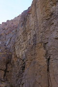 Rock Climbing Photo: Over the top.