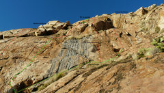 Rock Climbing Photo: Blue Sky Wall, right side