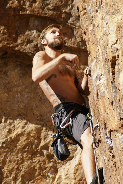 G going for the crux sequence