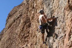 Rock Climbing Photo: Ryan B tries for the onsight of Blackjack!