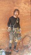 Rock Climbing Photo: Wasted after a lot of fun! !