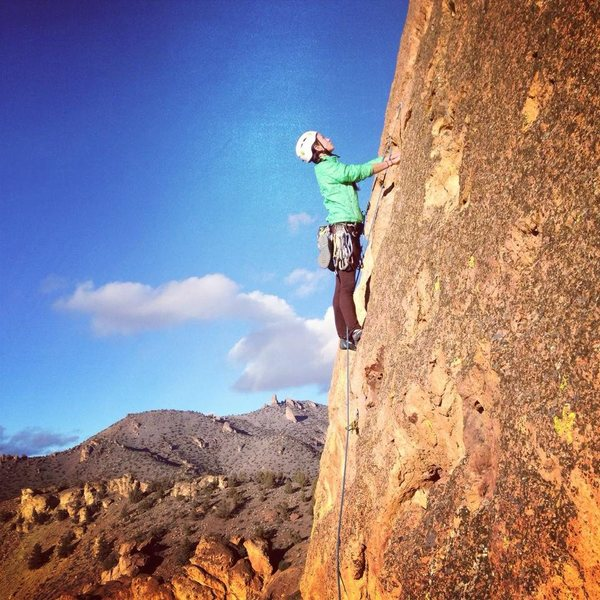 Rock Climbing Photo: Great first route to climb at Smith Rock!