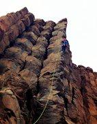 Rock Climbing Photo: Yeeeehaw!
