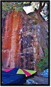 Rock Climbing Photo: Apneic problem beta.